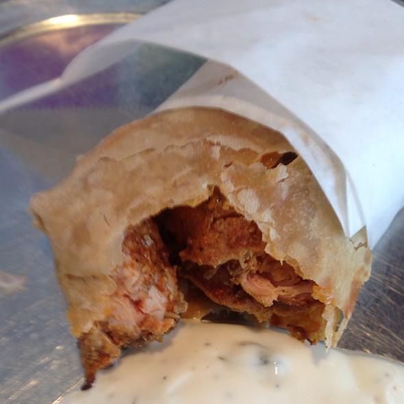 Chicken Tikka Kati Roll @ Kasa Indian Restaurant