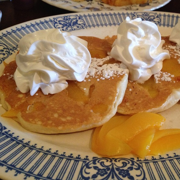 Georgia Peach Pancakes