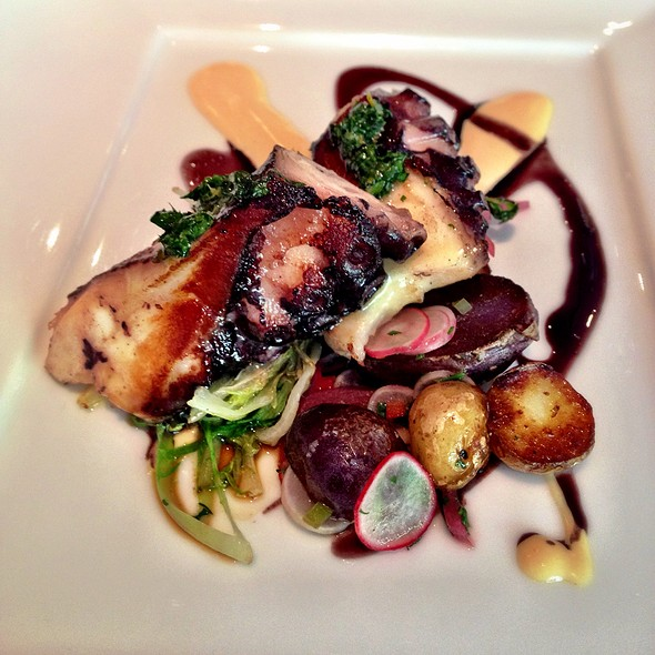 Grilled Octopus - Marea, New York, NY