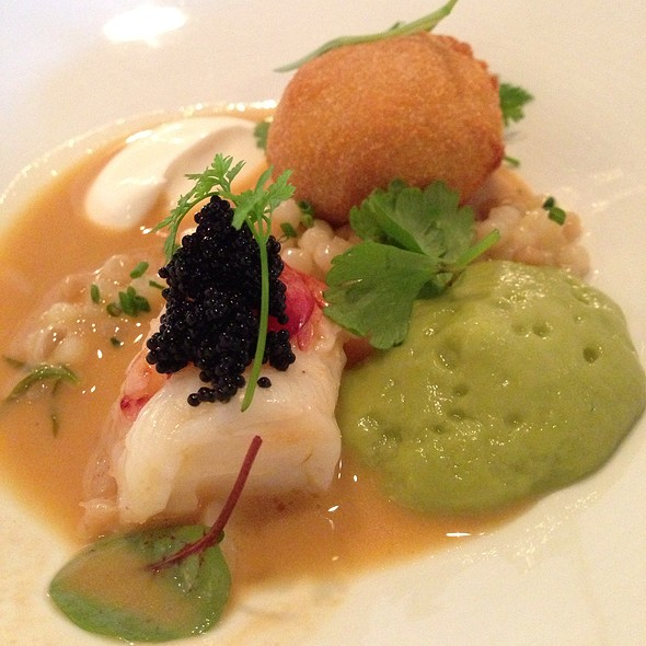 Maine Lobster With Avocado, Couscous, Tobiko, And Yogurt - Piccolo, Minneapolis, MN