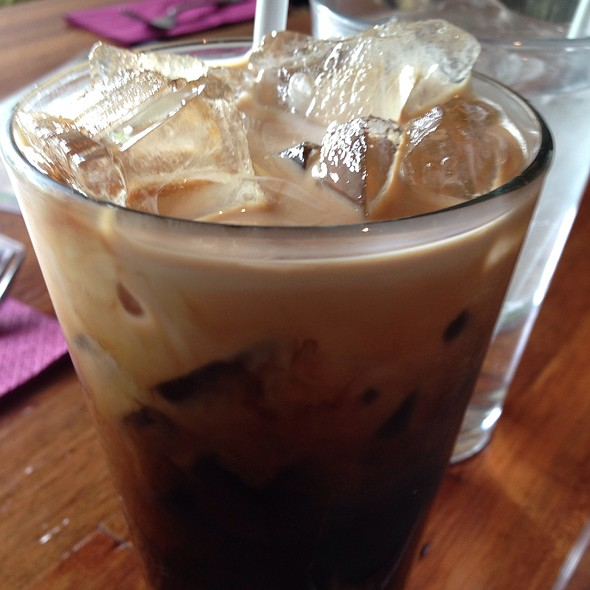 Thai Iced Coffee - Summer Summer Thai Eatery, Emeryville, CA