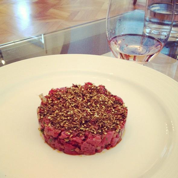 Steak Tartare With Zatar @ Chez Hiatt