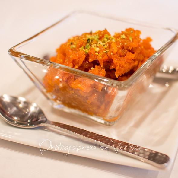 Gajar Ka Halwa - Saffron Indian Bistro, San Carlos, CA