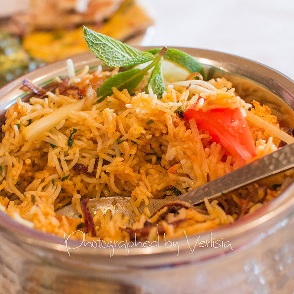 Chicken Dum Biryani - Saffron Indian Bistro, San Carlos, CA