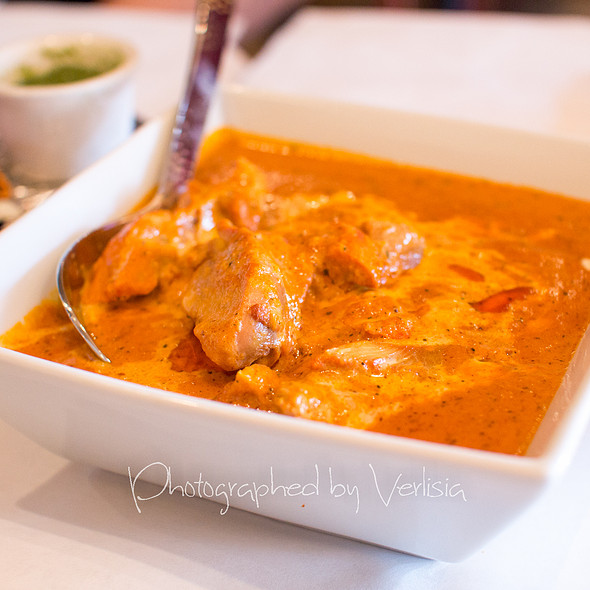 Butter Chicken - Saffron Indian Bistro, San Carlos, CA