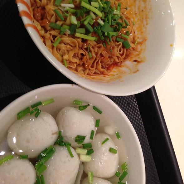 Fish Ball Noodles @ Lin Xin Teochew Fish Ball Noodles @ Ion Food Opera
