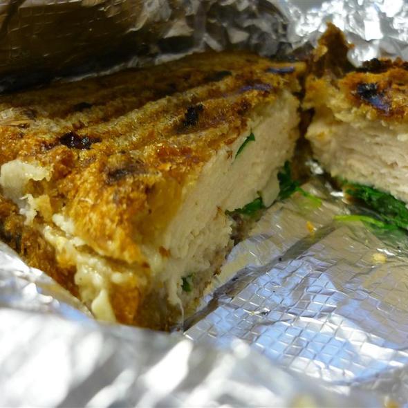 Herb Turkey and Gruyere Sandwich @ Paradis To Go