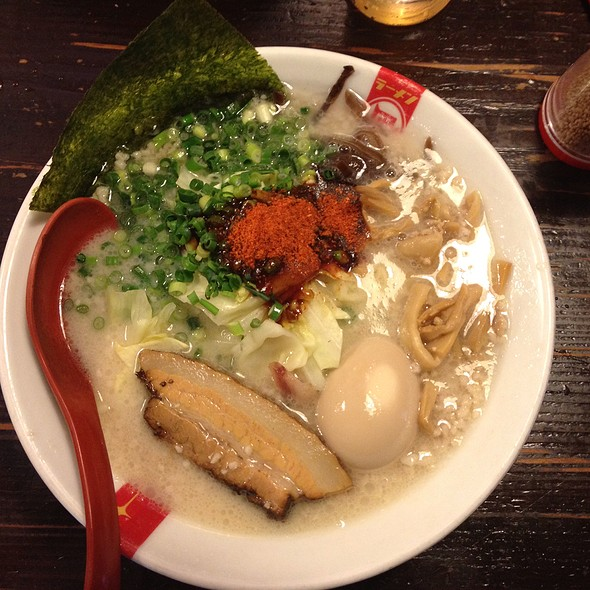 塩煮干しラーメン @ Ramen Nagi Niboshiou Shibuya