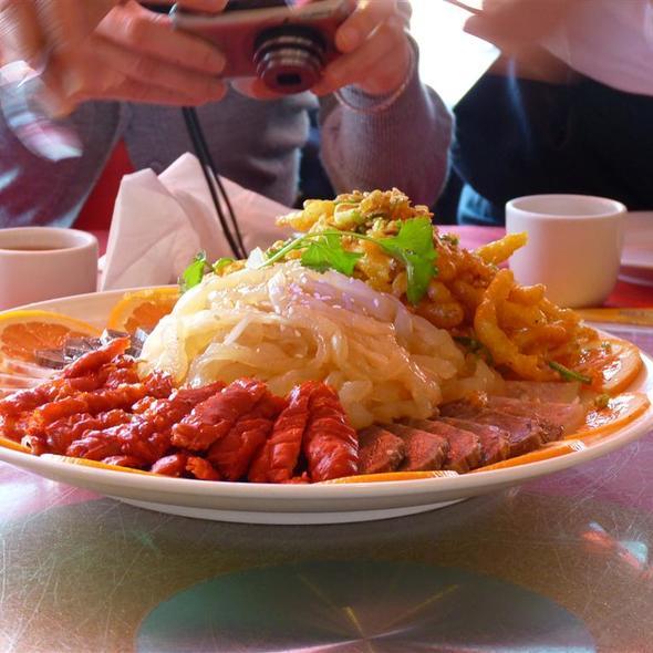 Mixed Appetizer Platter @ Canton Gourmet