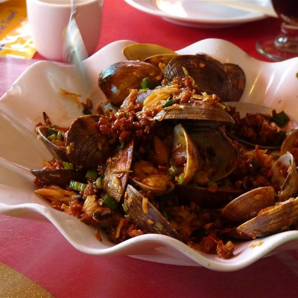 House Stir-Fried Clams @ Canton Gourmet