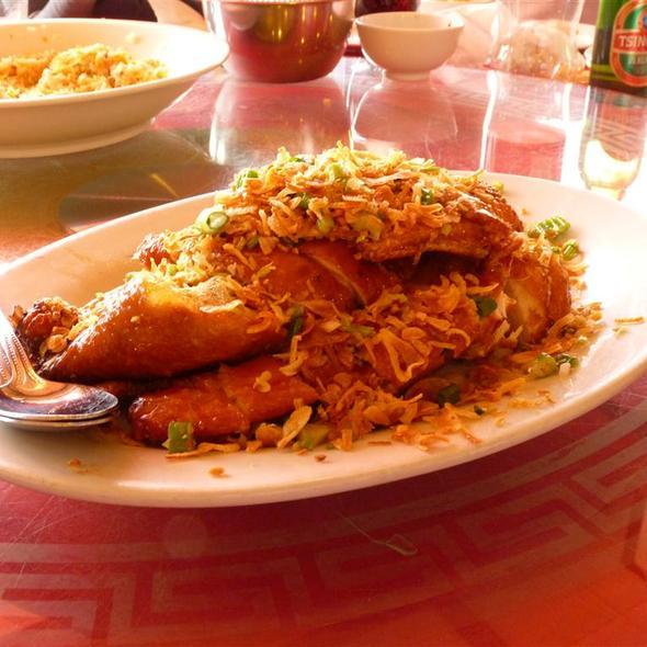 Famous garlic Aromatic crispy chicken  @ Canton Gourmet