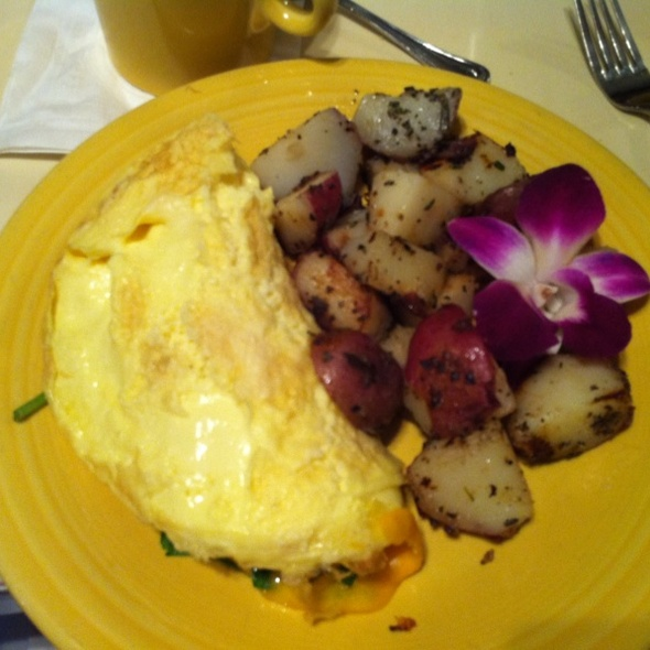 Omlette @ Tupelo Honey Cafe