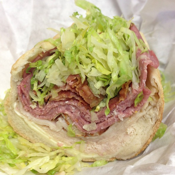 The Sandwich Man Pizza Too @ Doing It Green Restaurant