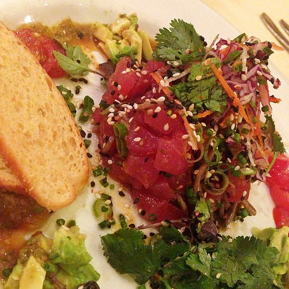 Tuna - Mark's American Cuisine, Houston, TX