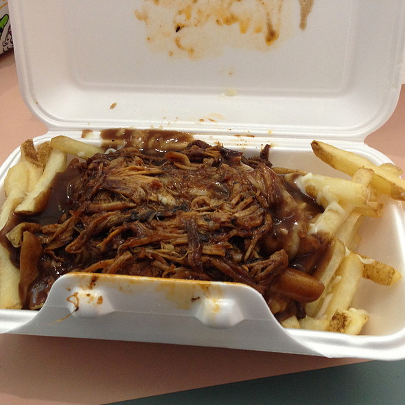 Pulled Pork Poutine @ The Chef's Wagon