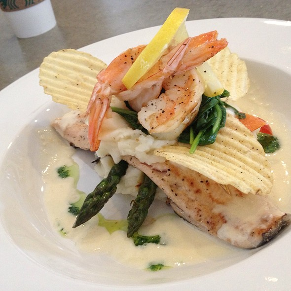 Ruby Red Trout With Prawns And A Lemon Beurre Blanc