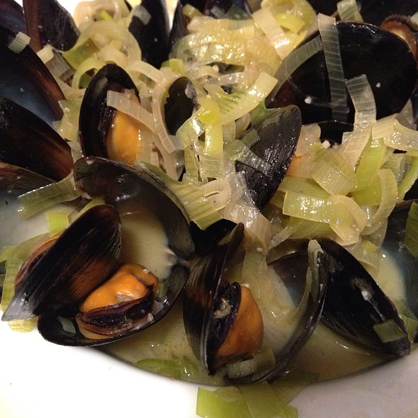Pale Ale Steame Mussels
