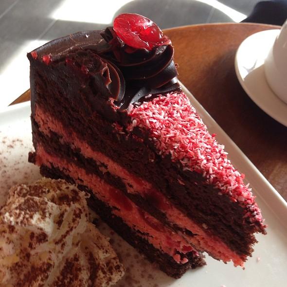 Dark Chocolate Cherry Ripe Cake