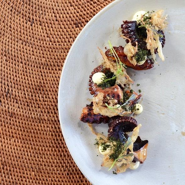 Crispy Ocyopus Takoyaki Style  @ 'ULU Ocean Grill