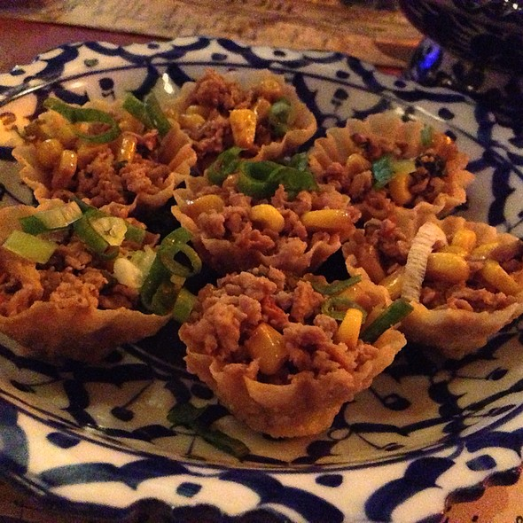 Krathong-Thong @ Mestiço Restaurante e Bar
