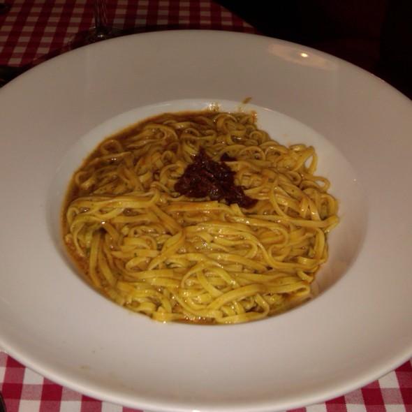 Sicilian Pesto Tagliatelloni @ O Mamma Mia