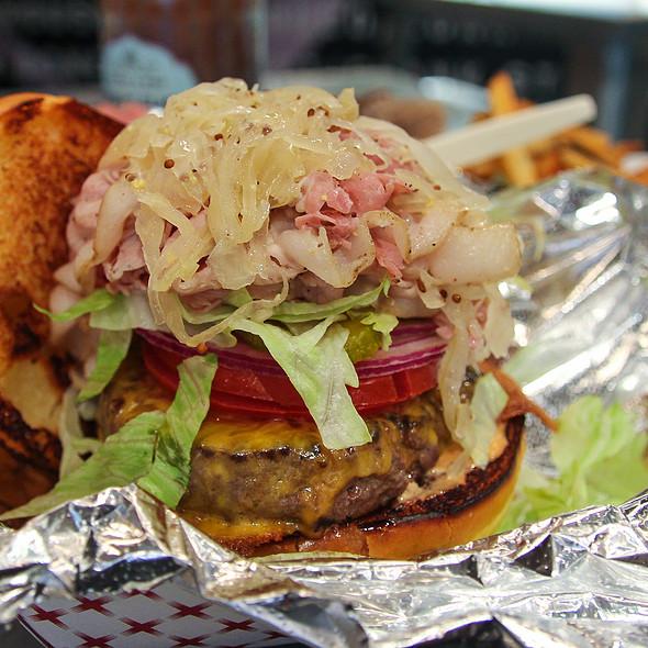 Porkstramburger @ Red Apron Butchery