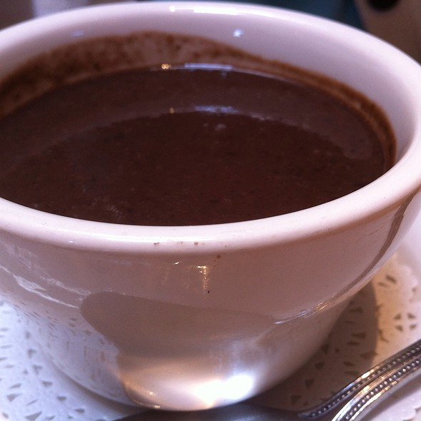 Black Bean Puree Soup @ Breakaway Cafe