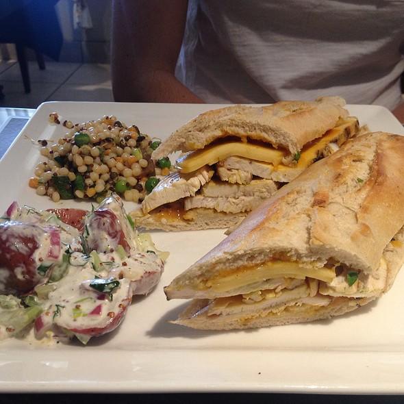 BBQ Chicken Sandwich - Mustard Seed Bistro, Plantation, FL