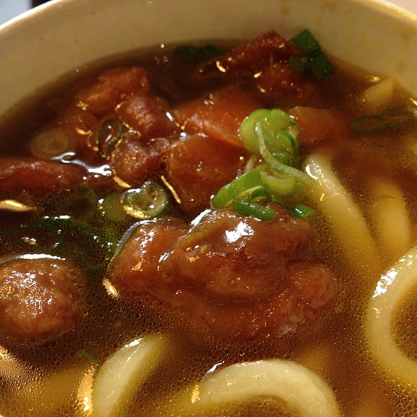 chicken curry udon @ Bento Sushi