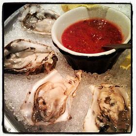 Kumamoto oysters - Mickey Mantle's Steakhouse, Oklahoma City, OK