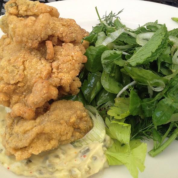 fried oysters - Bottega, Birmingham, AL