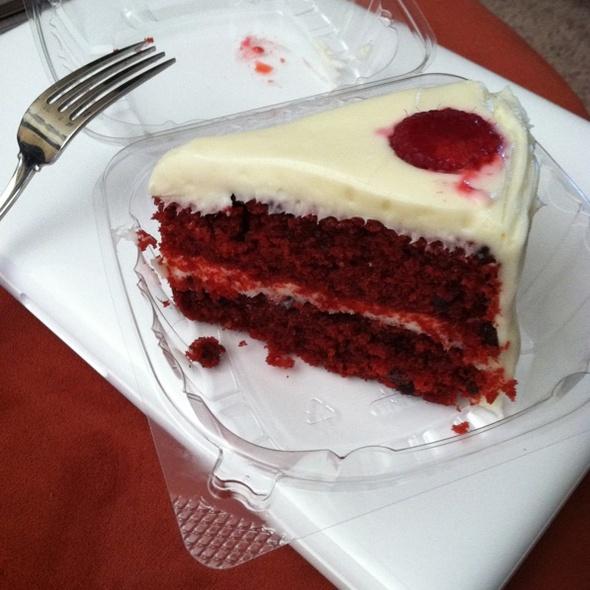 Red Velvet Whoopie Pie w/ Creme Cheese Filling, Mini Chocolate Chips @ Jax Kitchen - modern comfort food