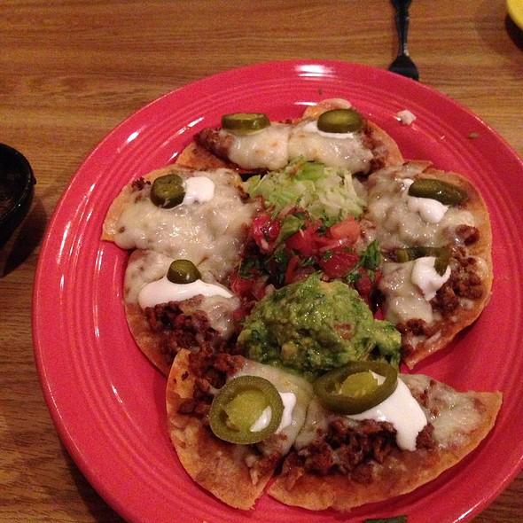 Bontana Nachos With Chorizo @ Miguel's Cantina