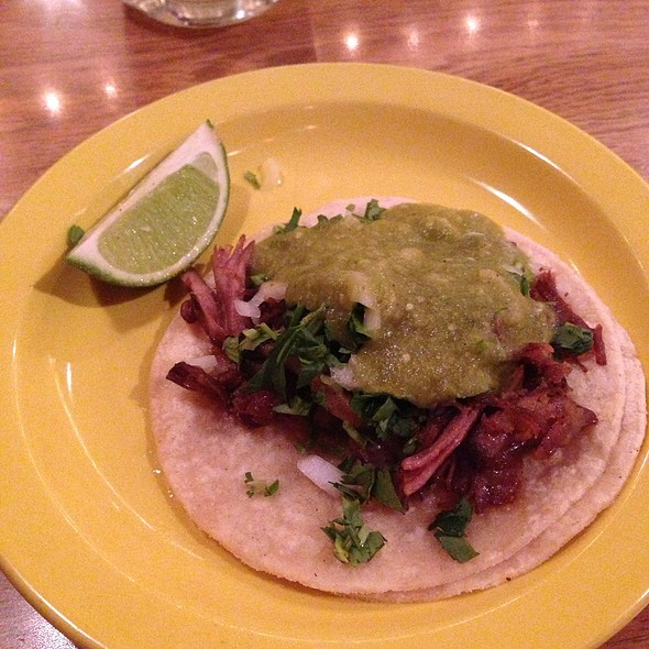 Carnitas Taco @ Miguel's Cantina