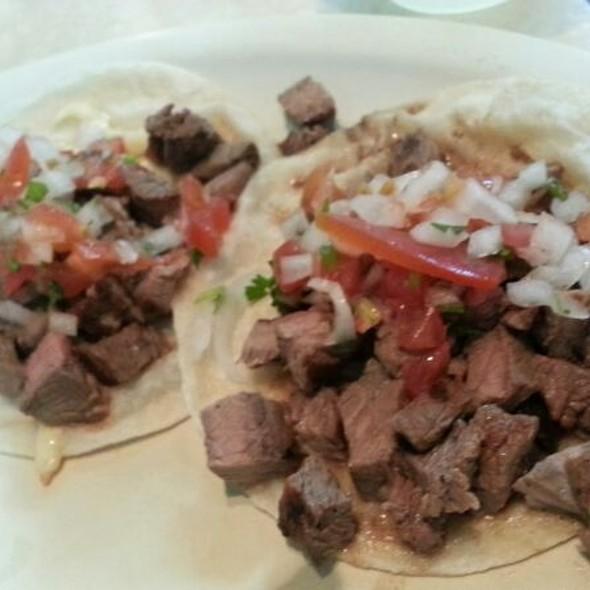 Tacos De Carne Asada @ Rincón Sonorense