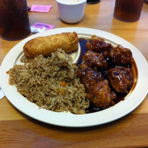 General Tso's Chicken @ Express Wok