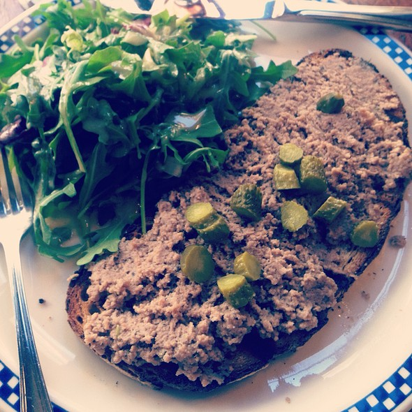 Duck Rillettes Tartine - Le Bateau Ivre, New York, NY