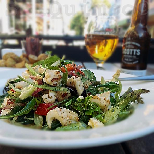 Calamari Salad @ Plum Cafe