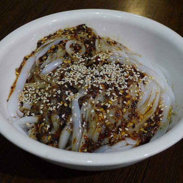 Bean Starch Jelly in Chilli Sauce @ Xu & Liu Chinese Restaurant