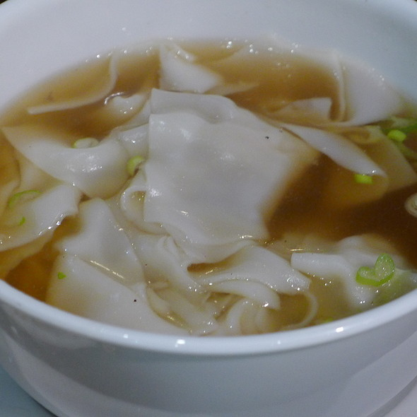Mince Chicken Dumpling Soup @ Xu & Liu Chinese Restaurant