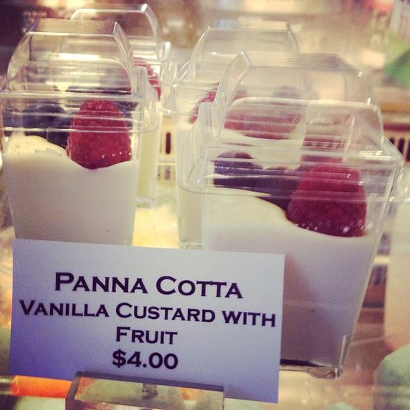 Pannacotta @ Fika Espresso Bar