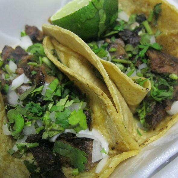 Tacos De Lengua @ La Cabana Restaurant