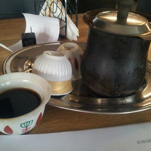 Lebanese Coffee @ Venus Lounge Bar and Grill