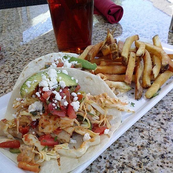 Mahi Tacos @ The Skinny Italian Kitchen