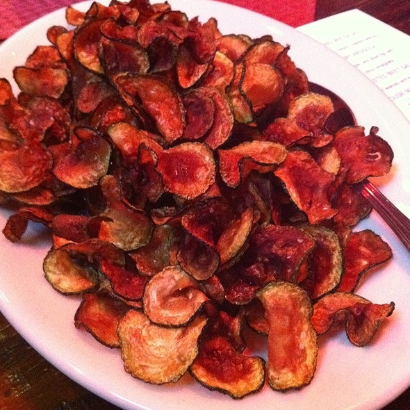 Zucchini Chips @ Meddlesome Moth The