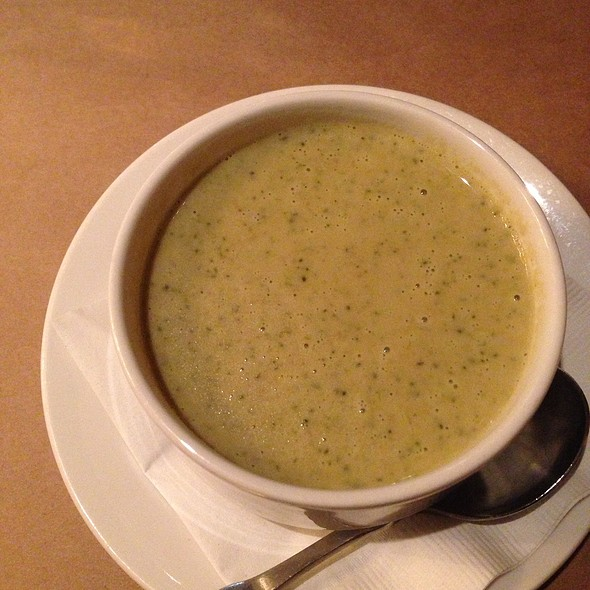 Cream Of Broccoli Soup @ CityVu Bistro