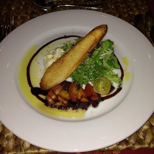 buratta salad @ Coast Catering