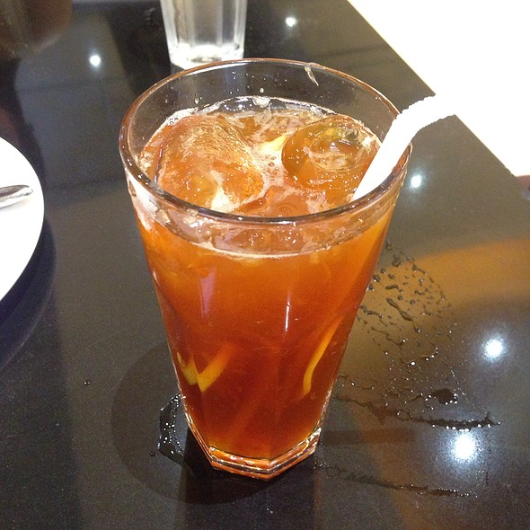 lemon iced tea @ Hap Chan Restaurant (Market Market Mall)