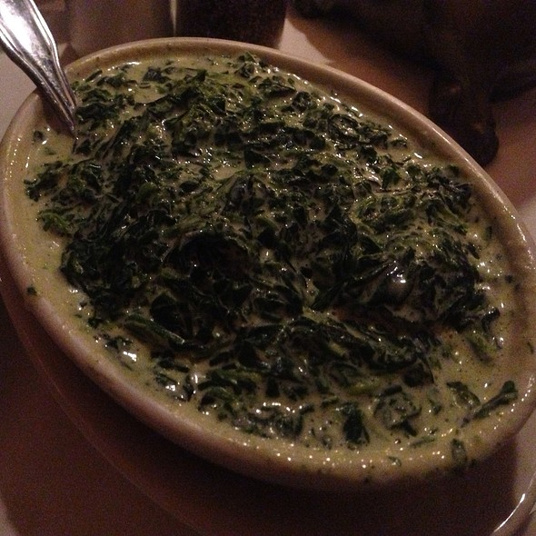 Creamed Spinach - Arnie Morton's The Steakhouse - Woodland Hills, Woodland Hills, CA