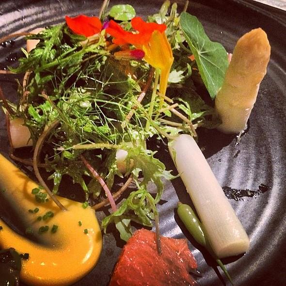 Austrian white asparagus @ Spago Beverly Hills